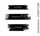 grunge black distressed...   Shutterstock .eps vector #1330671188