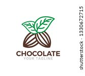 a modern style of chocolate... | Shutterstock .eps vector #1330672715