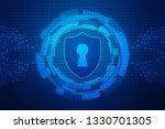 2d illustration protection... | Shutterstock . vector #1330701305