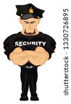 security with black hat | Shutterstock . vector #1330726895