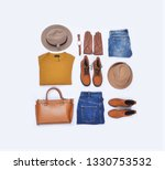fashion clothing and...   Shutterstock . vector #1330753532
