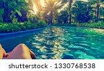Beautiful Pool In The Tropics