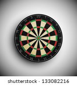 professional darts board. eps 10 | Shutterstock .eps vector #133082216