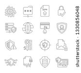simple internet icons set.... | Shutterstock .eps vector #1330856048
