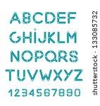 alphabet | Shutterstock .eps vector #133085732