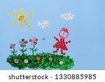 children's picture is made with ... | Shutterstock . vector #1330885985