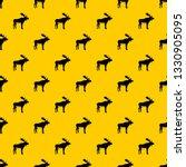 deer pattern seamless vector... | Shutterstock .eps vector #1330905095