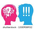vector illustration. man and...   Shutterstock .eps vector #1330908932