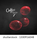 vector chalk drawn sketche of... | Shutterstock .eps vector #1330916048
