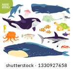 vector set of flat hand drawn... | Shutterstock .eps vector #1330927658