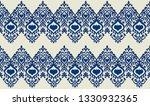 ikat geometric folklore... | Shutterstock .eps vector #1330932365