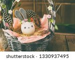 easter decoration for home ... | Shutterstock . vector #1330937495
