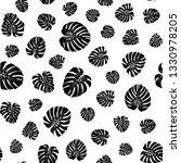 monstera leaves pattern.... | Shutterstock .eps vector #1330978205