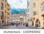 innsbruck  austria   june 27 ... | Shutterstock . vector #1330983002