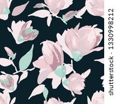 seamless floral pattern with... | Shutterstock .eps vector #1330998212