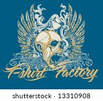 vector t shirt design | Shutterstock .eps vector #13310908