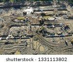 welding building gas pipeline... | Shutterstock . vector #1331113802
