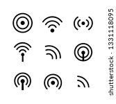 internet symbol. wireless icon...