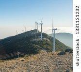 windmill mountain power plant   Shutterstock . vector #1331131232