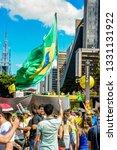 sao paulo  sp  brazil  ... | Shutterstock . vector #1331131922
