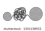 chaos and disorder turns into a ...   Shutterstock .eps vector #1331158922