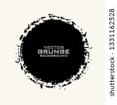 vector grunge circle. dirty... | Shutterstock .eps vector #1331162528