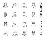 icon people  vector | Shutterstock .eps vector #1331165015