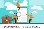concept with quality test and...   Shutterstock .eps vector #1331169212