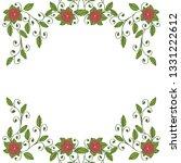 vector illustration pattern...   Shutterstock .eps vector #1331222612