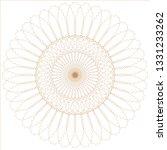 abstract circular pattern | Shutterstock . vector #1331233262