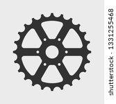 bicycle sprocket icon. vector... | Shutterstock .eps vector #1331255468