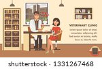 veterinary checkup banner... | Shutterstock .eps vector #1331267468