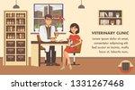 veterinary checkup banner... | Shutterstock .eps vector #1331267468