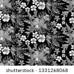seamless pattern with spring... | Shutterstock . vector #1331268068