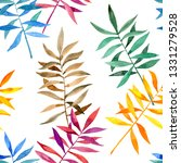 seamless floral pattern with... | Shutterstock . vector #1331279528