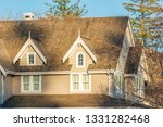 the top of the house or... | Shutterstock . vector #1331282468