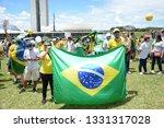 brasilia  df  brazil   april  4 ... | Shutterstock . vector #1331317028