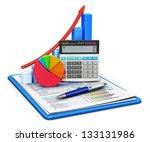 business finance  tax ... | Shutterstock . vector #133131986
