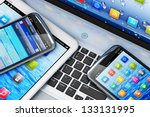 mobility and modern... | Shutterstock . vector #133131995