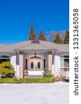 fragment of luxury house with... | Shutterstock . vector #1331365058