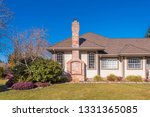 fragment of luxury house with... | Shutterstock . vector #1331365085