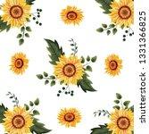 floral spring background | Shutterstock .eps vector #1331366825