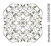 square frame corners ornament... | Shutterstock .eps vector #1331413928