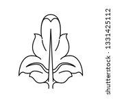 a fleur de lis heraldic coat of ... | Shutterstock .eps vector #1331425112