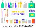 Zero Waste Vector Illustration...