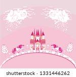 beautiful unicorn and fairy...   Shutterstock .eps vector #1331446262