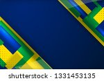 brazil flag color background... | Shutterstock .eps vector #1331453135