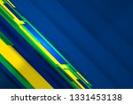 brazil flag color background... | Shutterstock .eps vector #1331453138