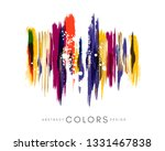 colorful hand drawn decorative... | Shutterstock .eps vector #1331467838