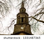 church spire and trees | Shutterstock . vector #1331487365